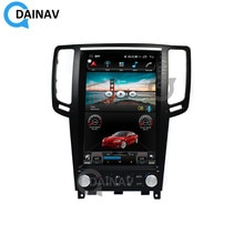 2 Din Android Autoradio pour Infiniti G25 G37 2004-2013 Tesla style Autoradio GPS Navigation multimédia lecteur DVD Autoradio