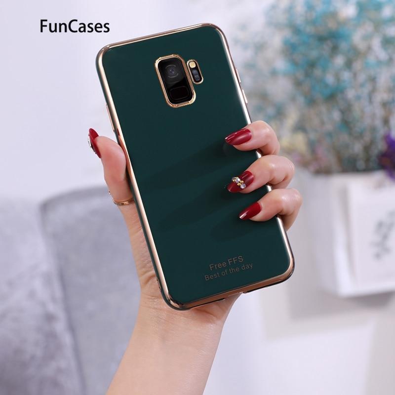 Nuevo Protector de silicona suave para estojo Samsung S9, funda para teléfono, funda para Samsung Galaxy ajax S9, Fundas protectoras para teléfono móvil