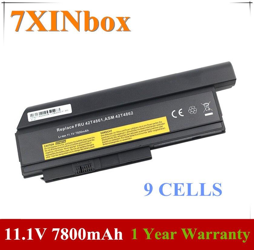 7XINbox بطارية لأجهزة لينوفو ثينك باد X220 X220i 42T4861 42T4865 42T4873 42T4875 42T4899 42T4901 42T4940 42T4942 0A36282 42T4862