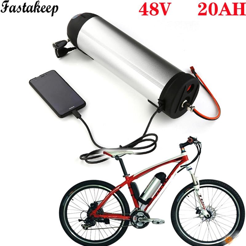E rower akumulator litowo-jonowy 48v 20ah dół rury rower elektryczny bateria litowo-jonowa 48v 750w bafang bidon batteri rower batterie