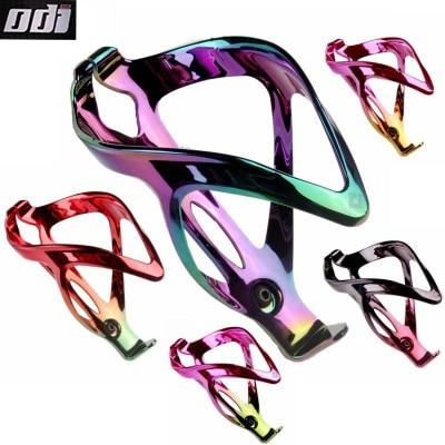 ODI bicicleta jaula de botella de galvanoplastia Arco Iris nailon y fibra de vidrio bicicleta MTB bicicleta Soporte para vasos botella de agua soporte equipo de equitación