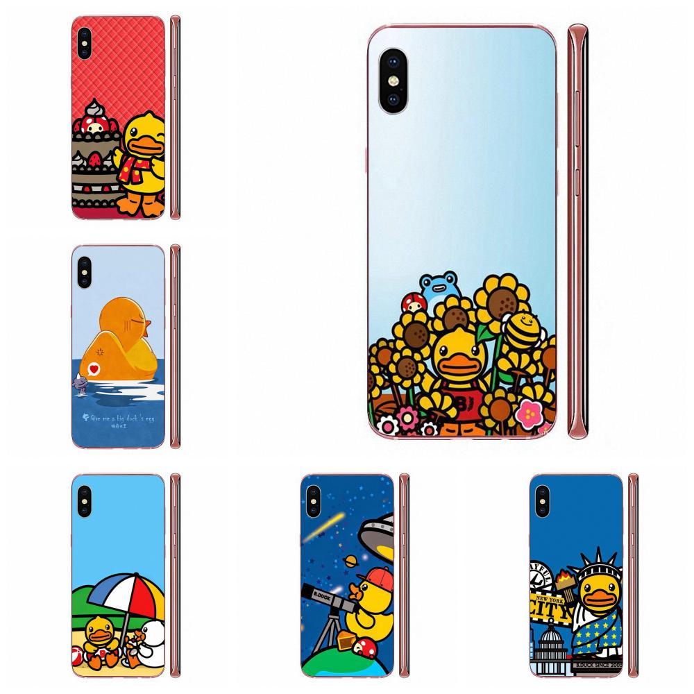 Funda de teléfono artística impresa en caliente Big Yellow Duck para Samsung Galaxy J8 J7 pro 2018 2017 2016 2015 J6 J5 J4 J3 J2 prime J1