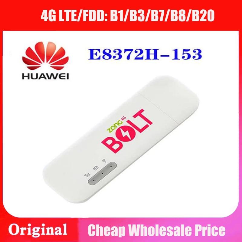 150mbps desbloqueado 4g lte wifi usb dongle huawei E8372h-153