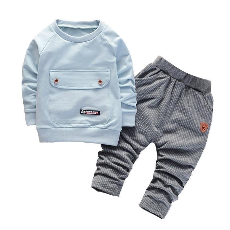 AliExpress - Children Boys Girls Cotton Clothing Sets Fashion Baby Gentleman Jacket Pants 2Pcs/Sets Spring Autumn Formal Toddler Tracksuits