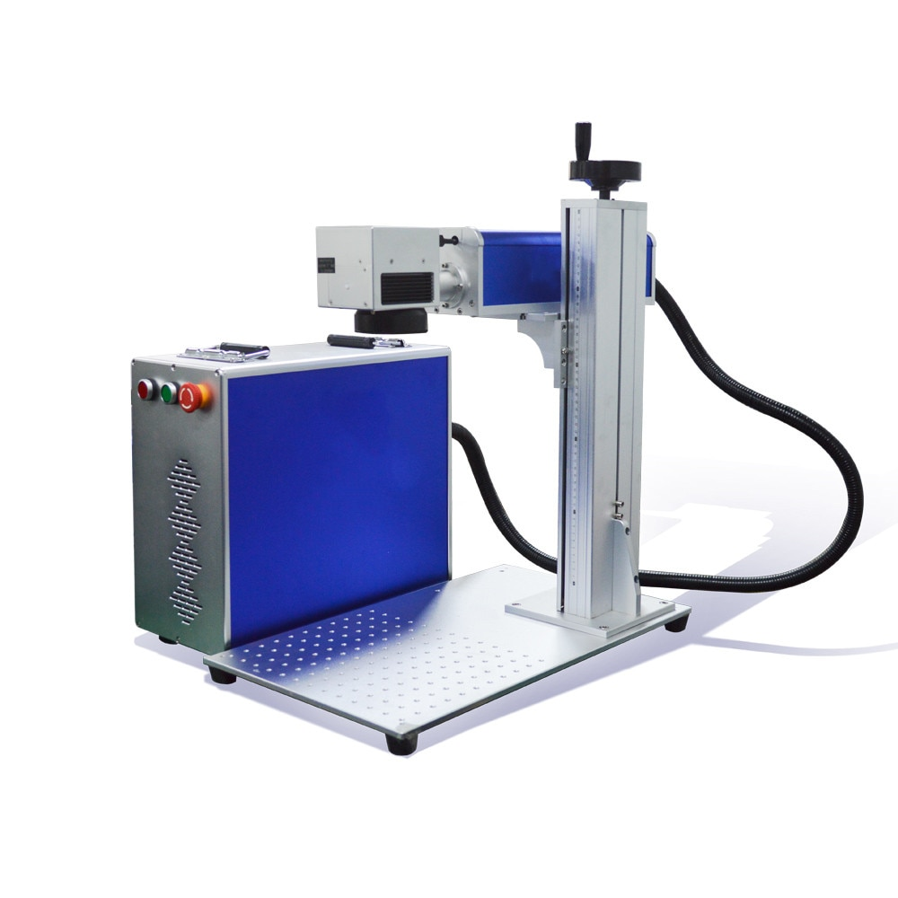 Hot Pick 3D dynamic color, Low Shipping Raycus fiber laser marker laser marking machine ipg source for metal and plastic