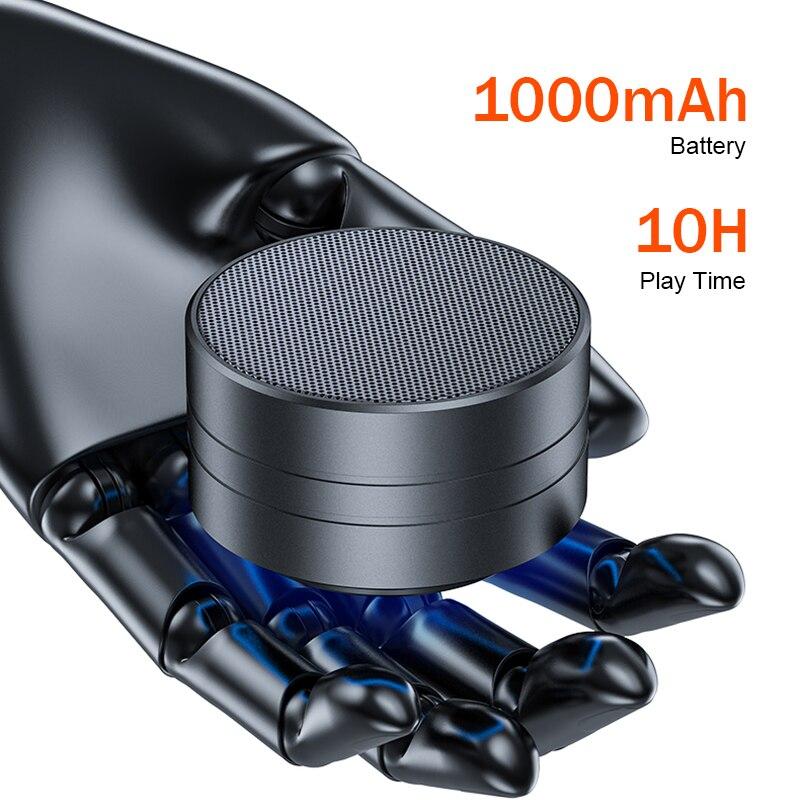 A8 minialtavoz Portátil con Bluetooth bajo subwoofer Altavoces inalámbricos para teléfonos TF...