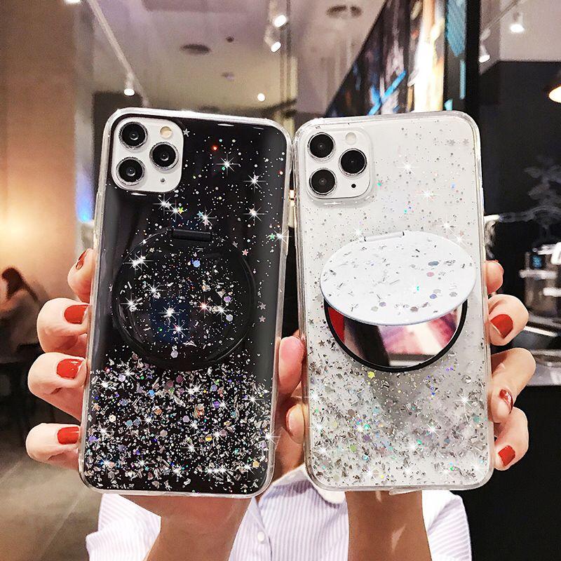 Bling cielo estrellado cielo espejo caso de Huawei mate 9 10 20 30 pro NOVA 5T 6 4G 5G 5 6SE 5 Pro 4E 3 3I 3E 2 PLUS Y5 Y6 Y7 Y8 Y9 2018, 2019