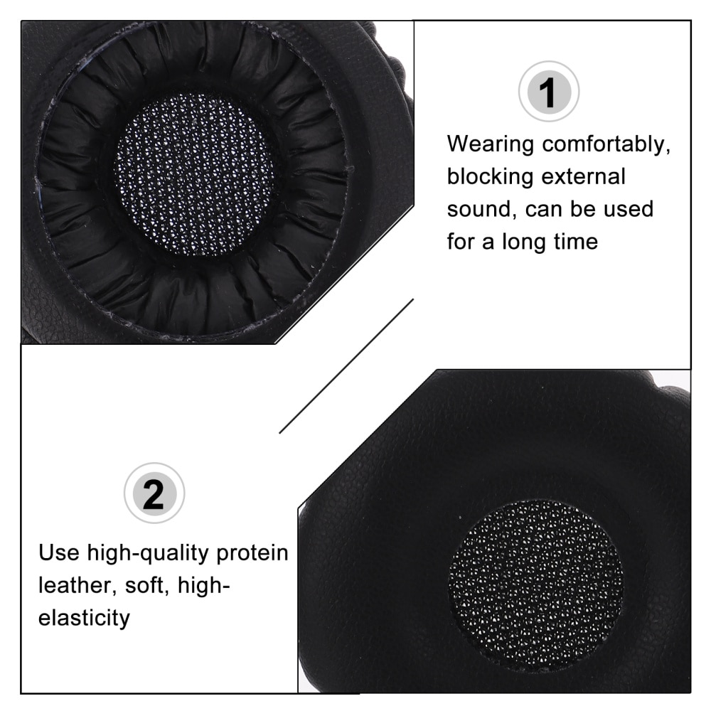 2 Pcs Soft Headset Covers Creative Ear Pads Compatible for AKG Y40 Y45BT enlarge