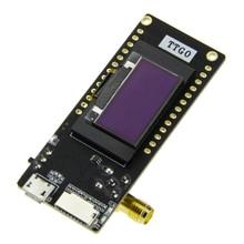 TTGO-módulo inalámbrico LoRa32 V2.1 433/868/915Mhz ESP32 LoRa OLED, tarjeta SD de 0,96 pulgadas, Bluetooth, WIFI, ESP-32 SMA IP5306