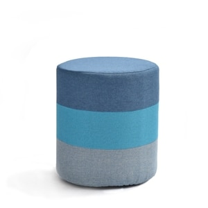 Creative Low Stool Fabric Rainbow Round Stool Change Shoes Stool Modern Sofa Living Room Bed Tail Makeup Stool Small Sitti