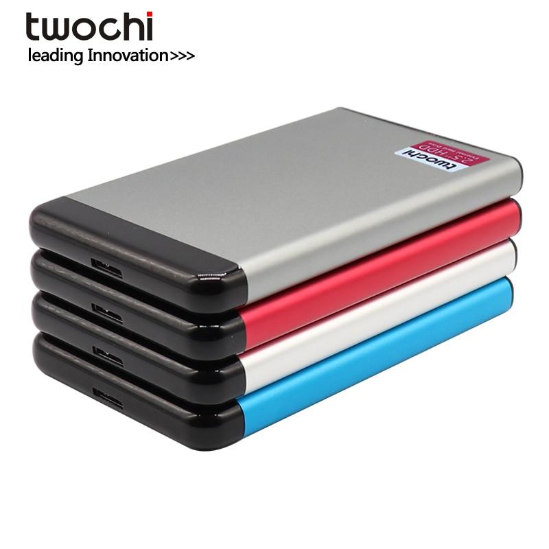 TWOCHI USB 3.0 80GB 120GB 160GB 250GB 320GB 500GB 1TB Portable External Hard Drive 2.5