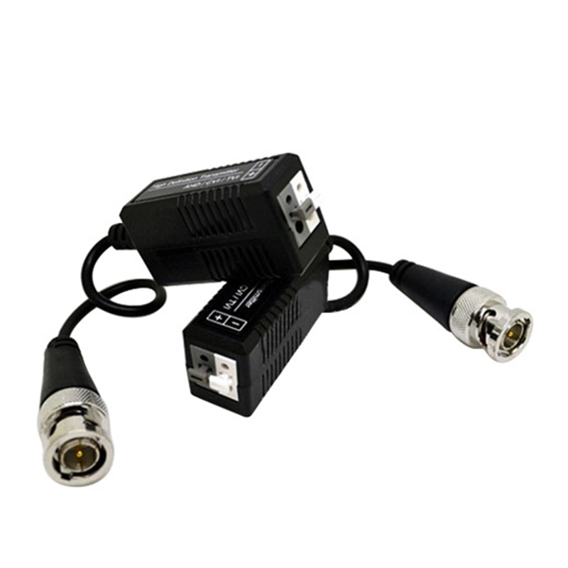10 Pairs AHD/CVI/TVI Twisted BNC CCTV Video Balun Passive Transceivers UTP Balun BNC Cat5 CCTV UTP Video Balun For CCTV Camera enlarge