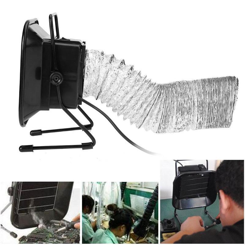 Extractor de humo de hierro de soldadura 30W 493, filtro de aire, herramienta para el ventilador, absorbente de humo para soldadura de hierro