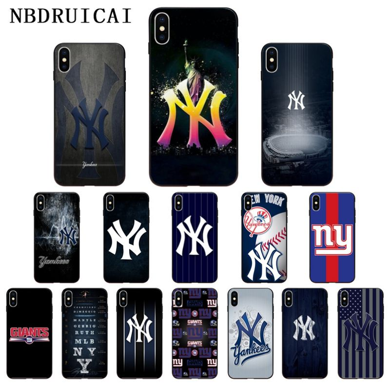 Nbdruicai américa nova iorque ny tpu silicone macio caso do telefone capa para o iphone 11 pro xs max 8 7 6 s plus x 5 5S se xr caso