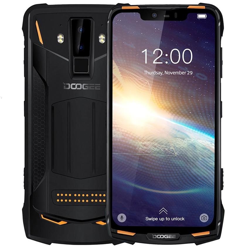 Перейти на Алиэкспресс и купить DOOGEE S90 Pro NFC IP68 Ударопрочный телефон, 6 ГБ + 128 Гб, Android 9,0, 5050 мАч, Helio P70 восемь ядер, 16 Мп + 8 Мп, 4G, прочный смартфон