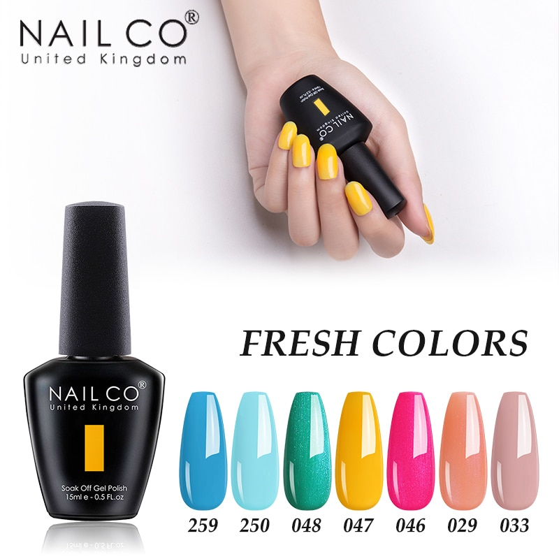 Nailco Pure Macaron 47colors Uv Gel Nail Polish Hybrid Varnish Semi Permanant Lucky Lacquer Gelpolish Nails Art All For Manicure Nail Gel Aliexpress