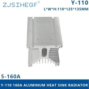 ZJSIHEGF Y type Y-150  L*W*H:150*125*135mm Solid State Relay Radiator Heat Dissipator 200A Industrial Module