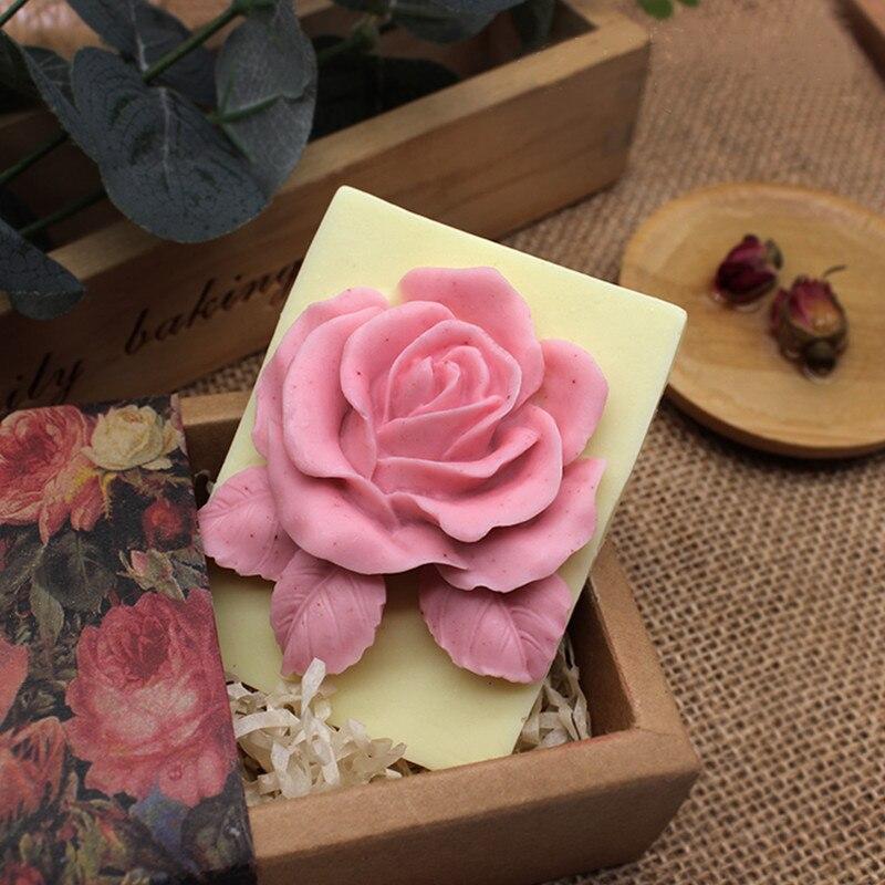 Grande peônia flor silicone molde diy fondant bolo, sabão, molde de vela doces macios secos pez molde utensílios de cozimento