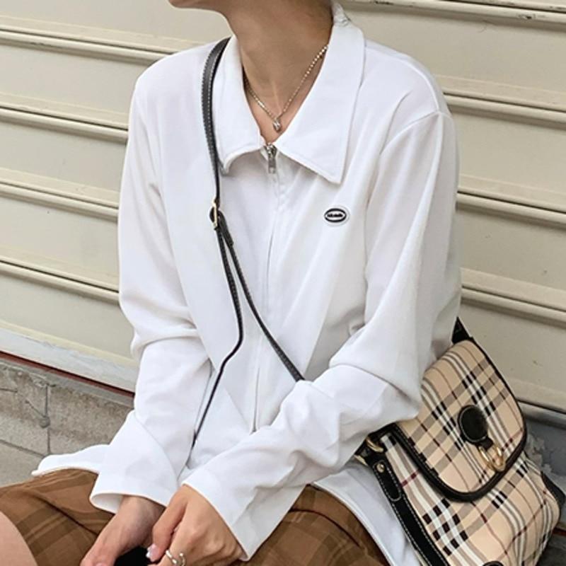 Women's Jacket Self-made Thin Sunscreen 2021 Summer Korean Version New Label Sunscreen Zipper Cardig