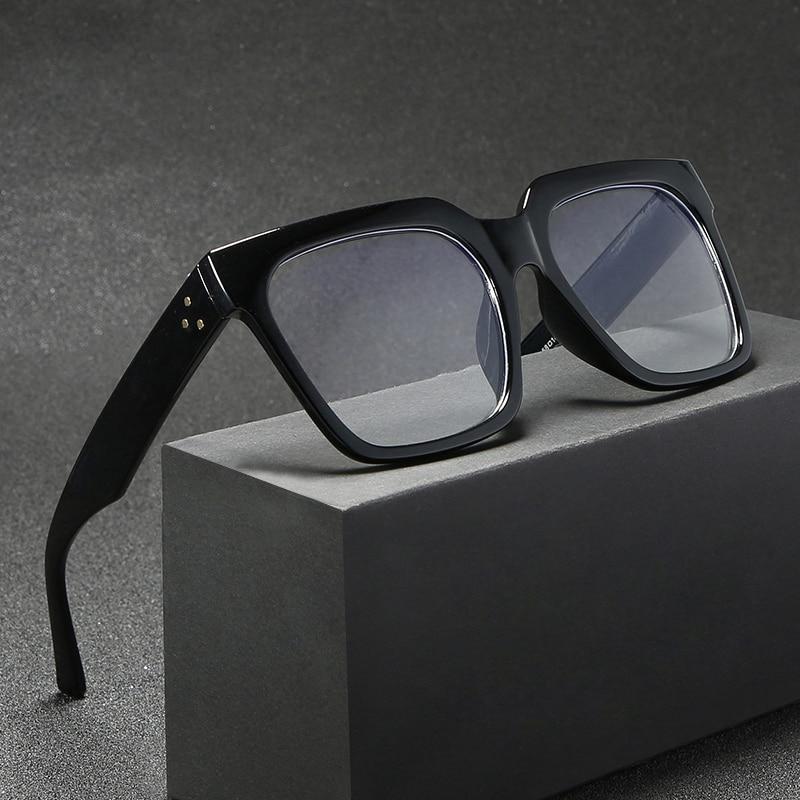 Модные Ретро квадратные женские солнцезащитные очки Higodoy, большие мужские очки, солнцезащитные очки, очки, солнцезащитные очки с УФ-защитой,...