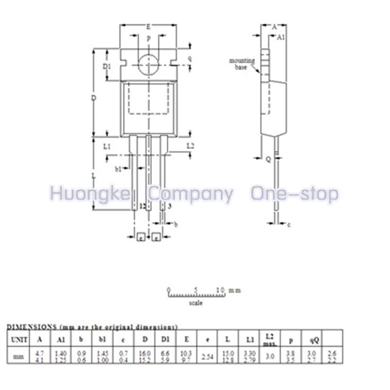 10 pçs/lote BTA312-600B 312-600 BTA312 TO220 TRIAC 600V 12A(RMS) 110A
