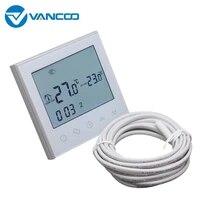 Vancoo     Thermostat intelligent Wifi 220V  regulateur de temperature de chauffage electrique  fonctionne avec Google Home Alexa Tuya  pour maison connectee