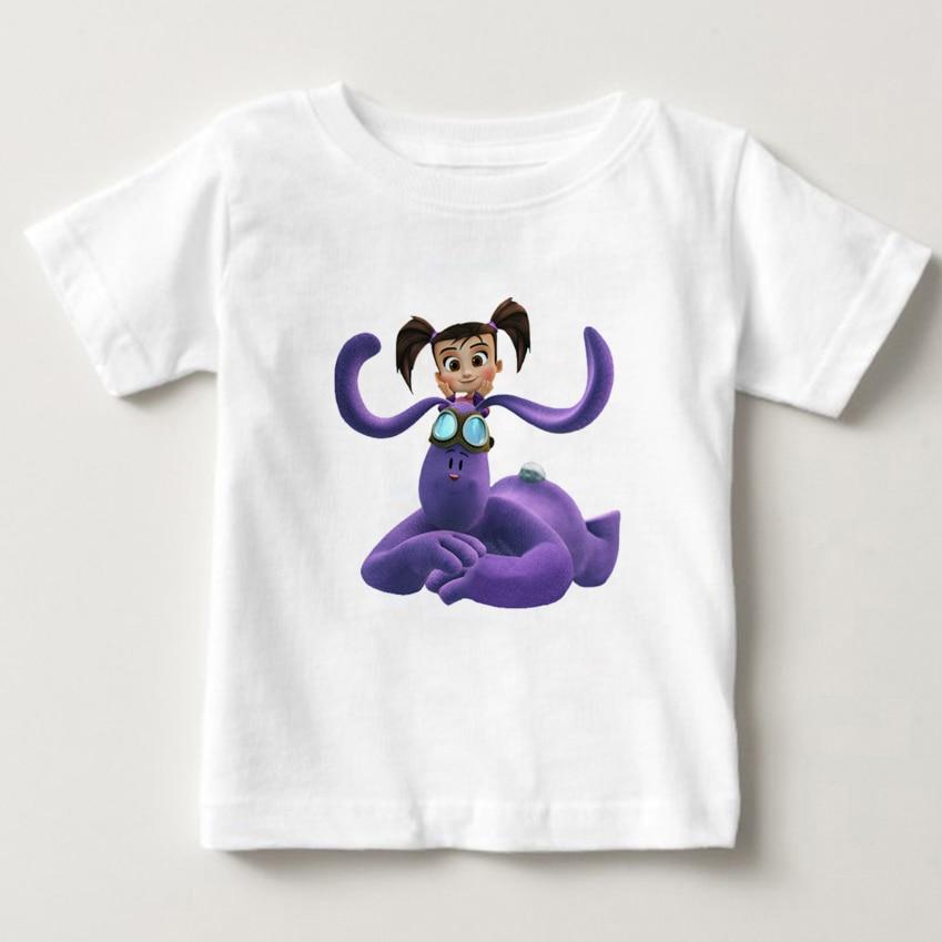 Kate And Mim Mim 3D Printed Children T - Shirts 3T-8T Boys And Girls Cartoon T-shirt, Pure Cotton Breathable Children's Clothing kate and mim mim игрушка катя и мим мим набор коллекционных фигурок 5 шт