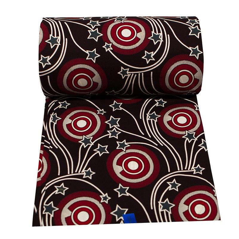 100% хлопок, африканская Анкара, ткань для принтов, настоящая восковая ткань, швейное платье, сделай сам, Крафт, Гана, Ткань, восковой материал, ...