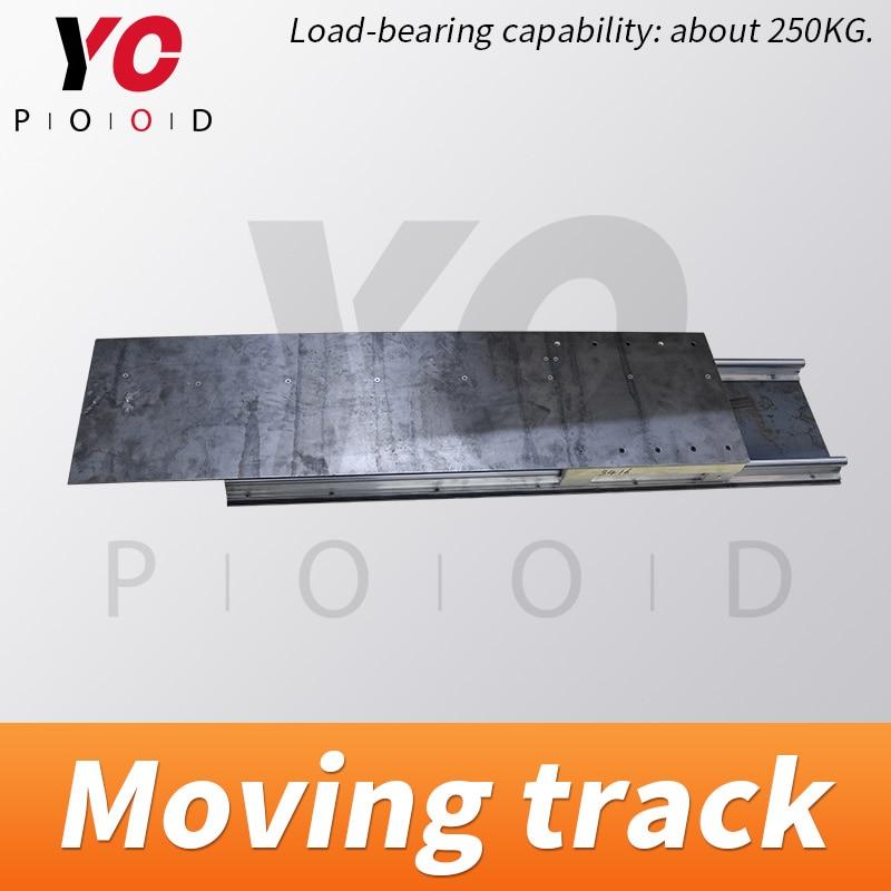 Yopwood-مسار متنقل لغرفة الهروب ، الخزانة ، غرفة الجدار المتحرك ، الخزانة أو رف الكتب