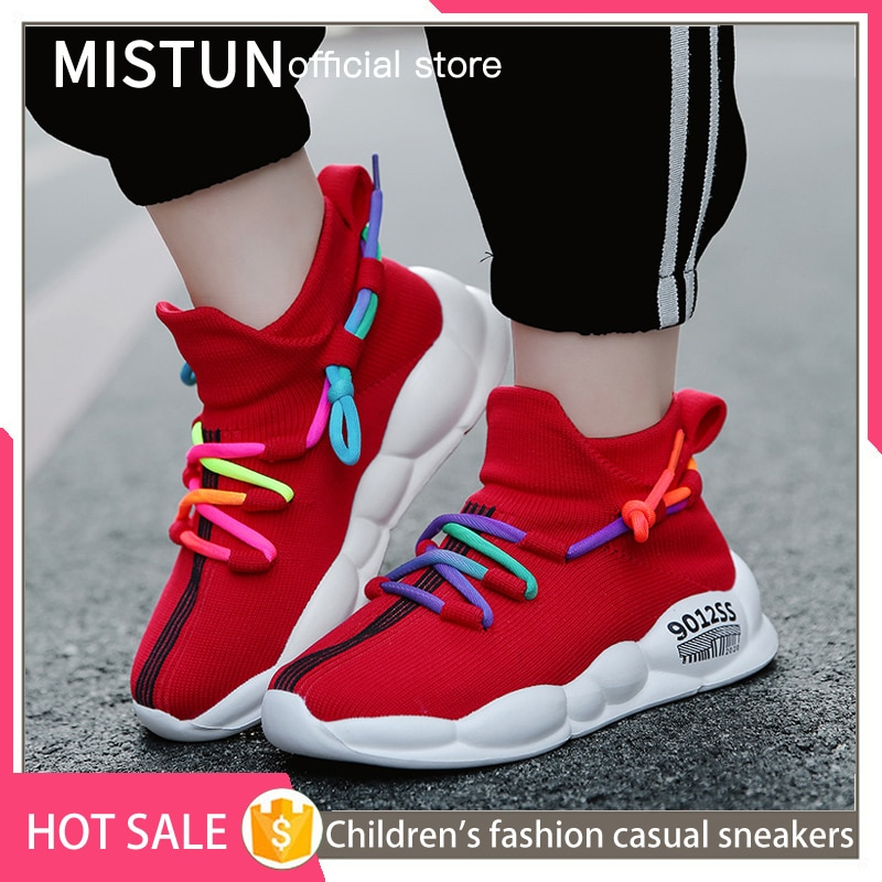 2021 Children Casual Shoes Fashion Toddler Infant Kids Baby Girls Boys Mesh Soft Sole Sport Shoes Sn