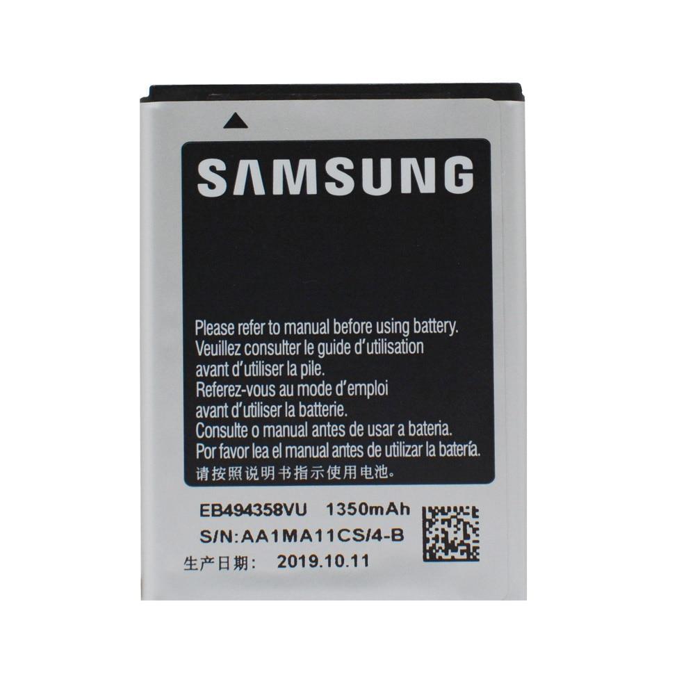 20pcs/lot Orginal Battery EB494358VU For Samsung Galaxy Ace S5830 S5660 S7250D S5670 i569 I579 GT-S6102 S6818 GT-S5839i 1350mAh enlarge