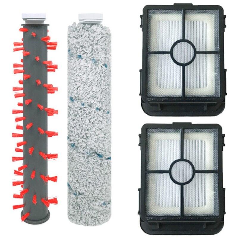 فرشاة السجاد الكلمة فرشاة الأسطوانة فرشاة تصفية ل bissale 2554A مكنسة كهربائية الملحقات ، 4 قطعة