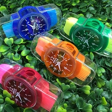 Cute Funny Watches Students Children Supplies Plastic Pencil With Erasers Brush