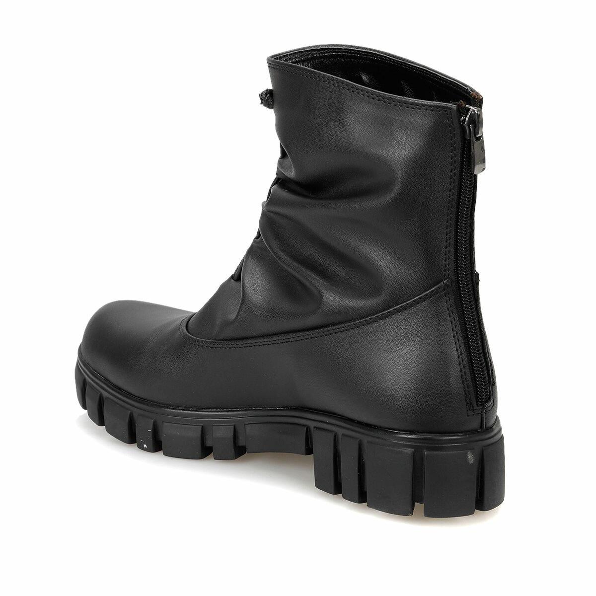 FLO Black Women Boots Ankle Boot Woman Spring BUTIGO AYSAR85Z B