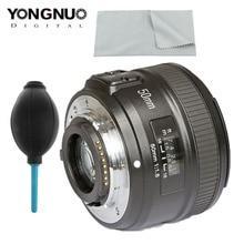 YONGNUO YN 50mm f1.8 AF Lens YN50mm Aperture Auto Focus Large Lens for Nikon D3000 D3100 D3200 D3300 D5000 DSLR Camera Original