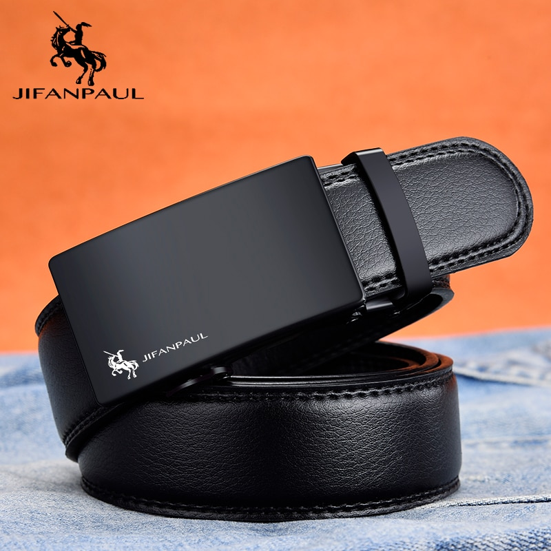JIFANPAUL mens leather belt brand fashion appearance top manufacturing, factory direct supply, designer design new