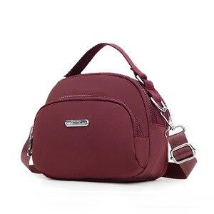 2021 New Fashion mini trend kawaii bag 3 layers Women Small bags nylon waterproof Woman Crossbody bag Casual bolsas feminina