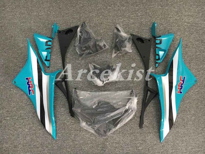 Injection Mold New ABS Whole Fairings kit Fit for Honda CBR600RR F5 2009 2010 2011 2012 09 10 11 12 Bodywork set sky blue Nice