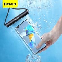 Baseus-funda de teléfono impermeable para iPhone 13, 12 Pro Max, Samsung, Xiaomi, Poco, bolsa de teléfono a prueba de agua, cubierta de protección Universal
