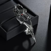unisex cool dragon heavy rock biker punk joint ring night club vintage gothic scroll armor knuckle metal full finger rings