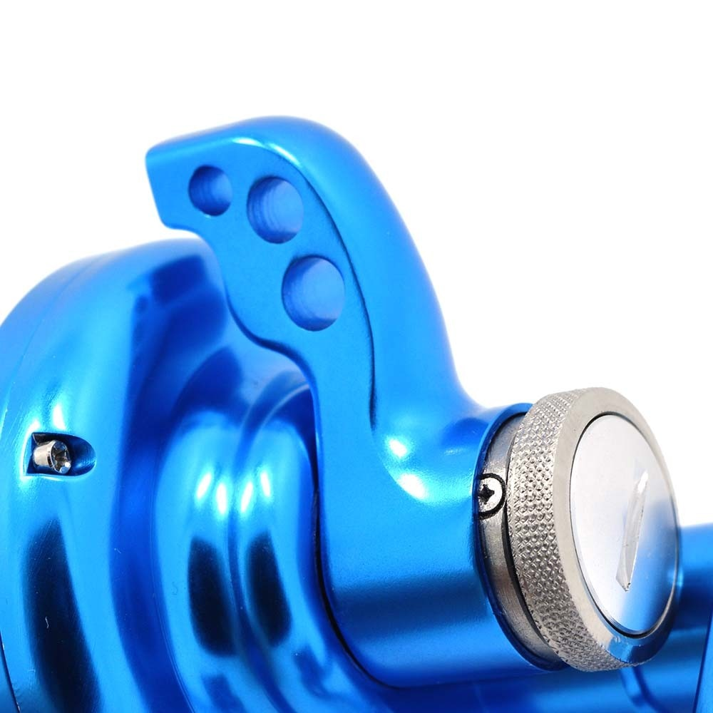 TA500L 4.9:1 gear ratio All metal aluminum alloy bait casting Saltwater fishing wheel jigging trolling Left hand reel enlarge