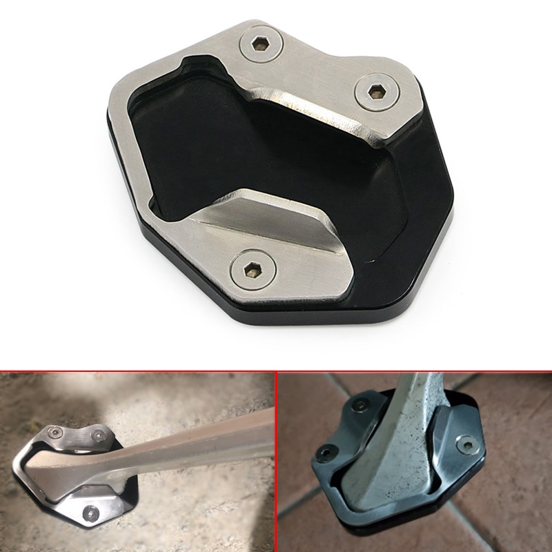 Kickstand Side Stand Support Plate Pad For Triumph Tiger 800 XC 10-14 800 XCx XCa XR XRx XRt 15-17 E