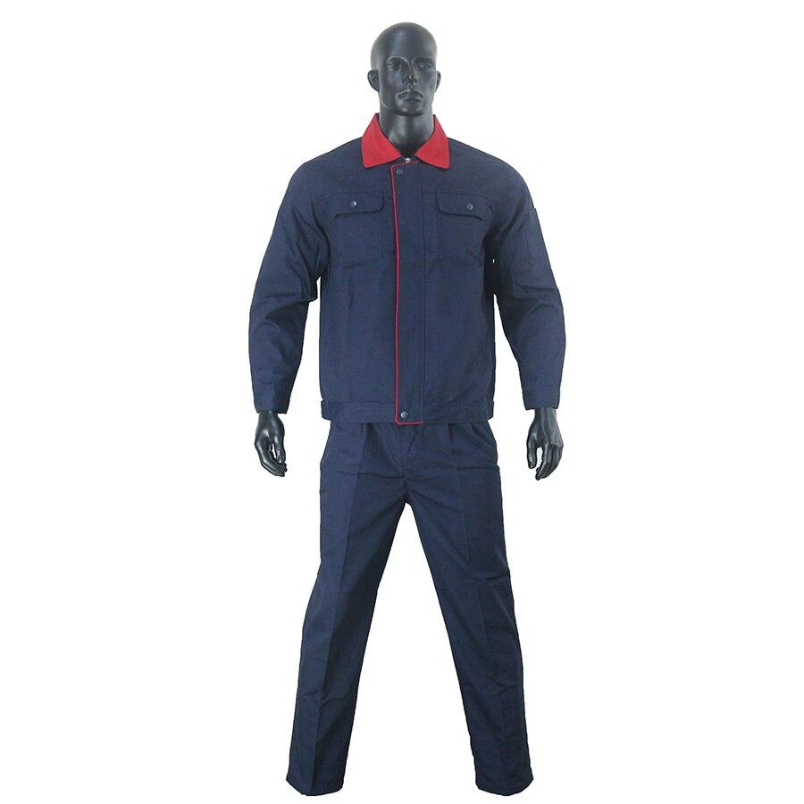 Спецодежда, комбинезон, защитный комбинезон, костюм из изготовленного на заказ мужского авторемонта с длинным рукавом, спецодежда