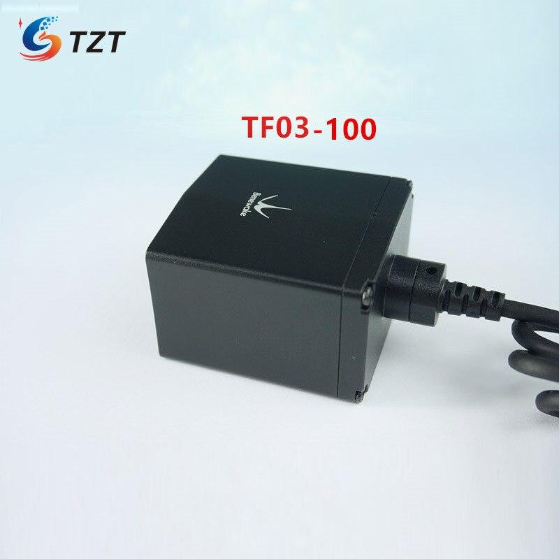 TZT TF03-100 ليدار المدى مكتشف الاستشعار وحدة IP67 مقاوم للماء 100 متر تتراوح UART/CAN/IO RS485/RS232