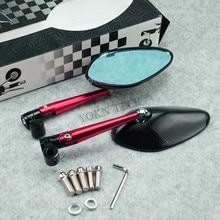 Accesorios para motocicleta espejo retrovisor de 8mm 10mm
