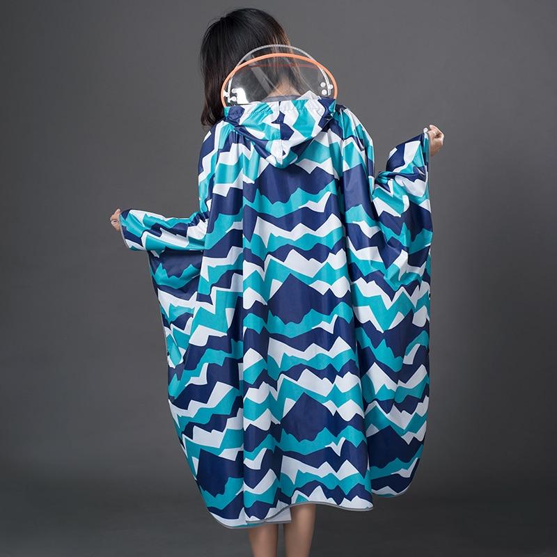 Poncho Waterproof Suit Rain Coat Adult Outdoor Hiking Windbreaker Long Raincoat Women Chiffon Floral Cover Ups Nylon Raincoats enlarge