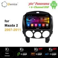 "Ownice  carp 9"" Carplay GPS DVD Player Auto Radio Player Android 10 360 Panorama DSP SPDIF 4G 8 Core for mazda 2 2007- 2011"