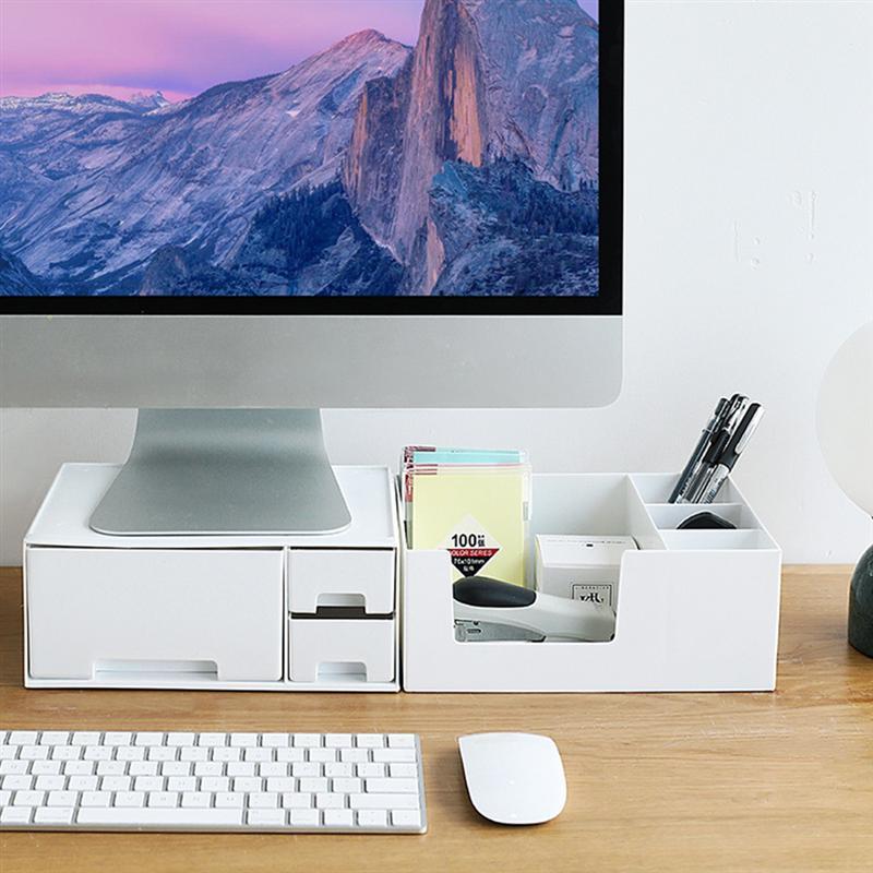 Soporte de Monitor multifunción para escritorio, soporte de pantalla vertical para ordenador, soporte de escritorio para TV y portátil