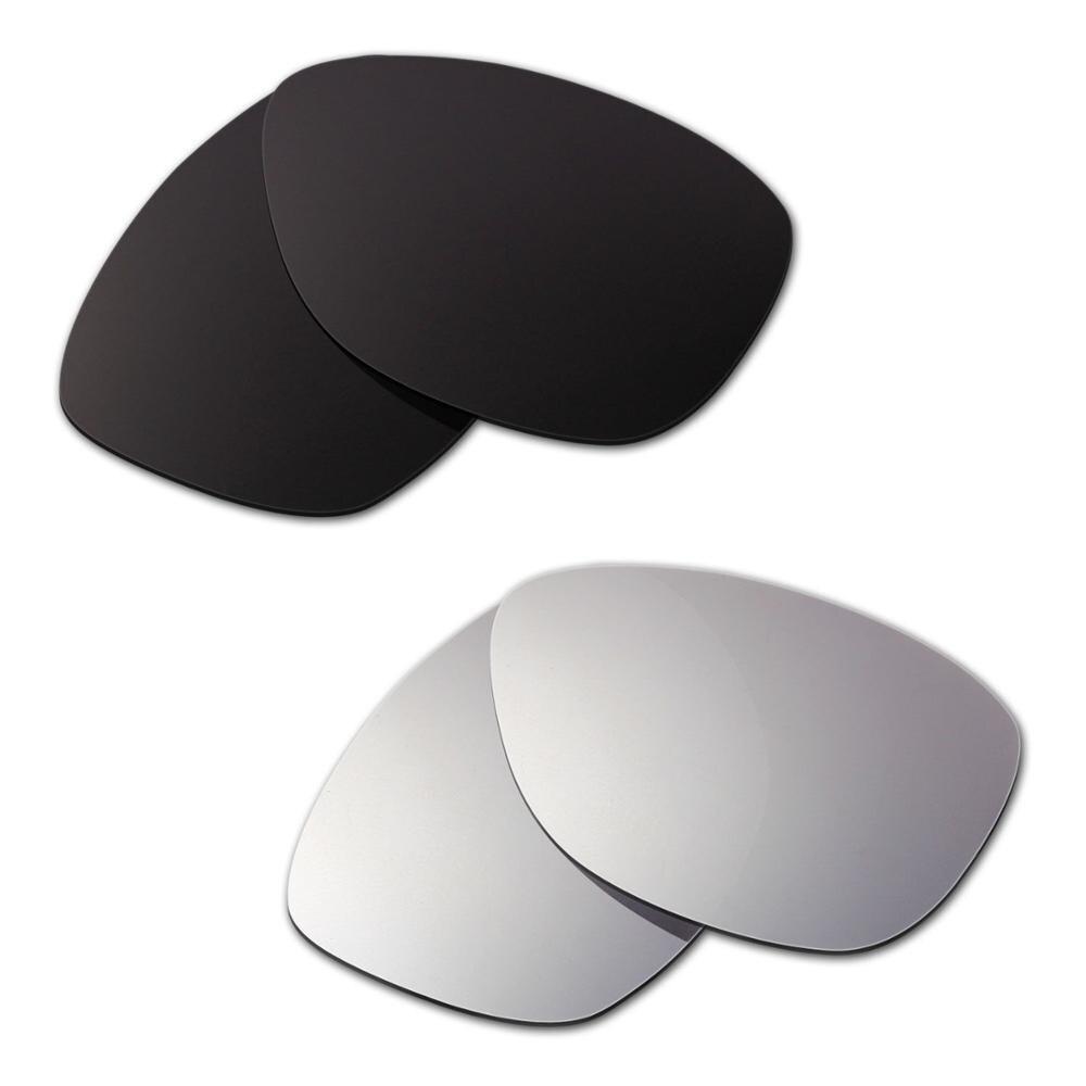 HKUCO ل المشتري استبدال العدسات المستقطبة 2 أزواج الأسود والفضة