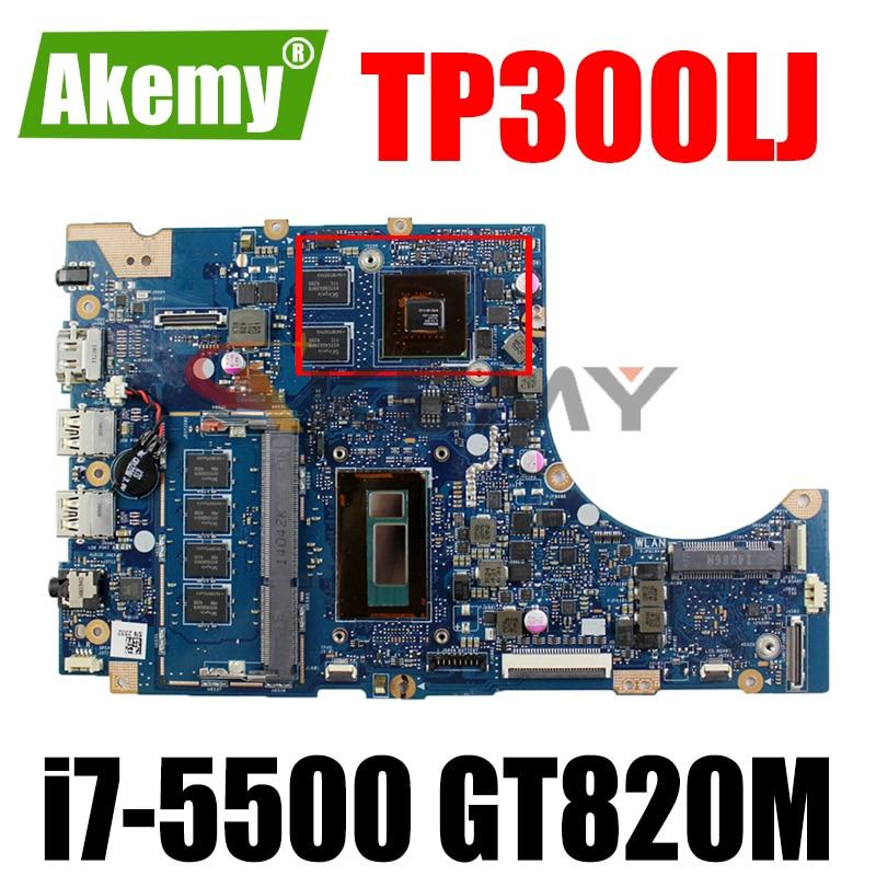 Akemy TP300LJ اللوحة لابتوب Asus TP300LJ TP300LD TP300L اللوحة 100% اختبار i7-5500 GT920M
